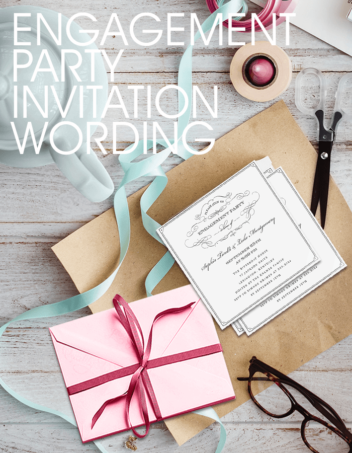 Engagement Party Invitation Wording | Samples & Examples