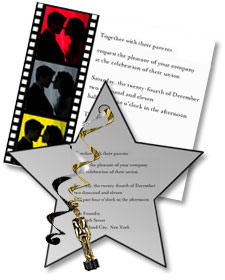 Hollywood Party Theme Decorations Ideas Invitations Party Favors