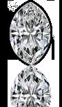 Marquise cut diamond